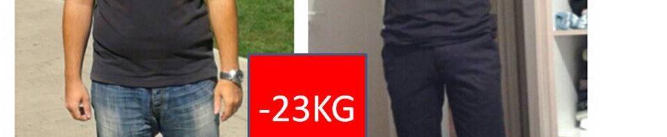Predrag - Uz program mršavljenja E&M Smršao sam 23 kilograma