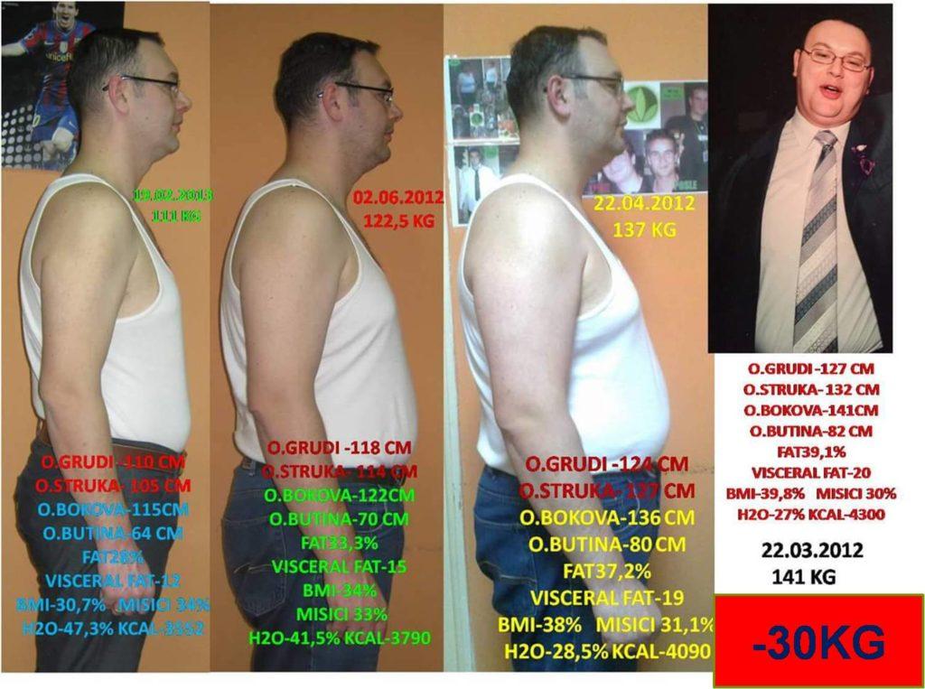 Željko - Smršao 30 kg
